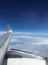 飛機外的風景