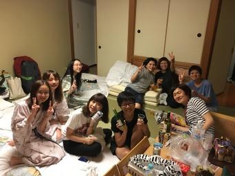 與日本友人體驗合宿